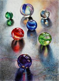 Carolyn Wallace Marbles 1- Fresh Entry