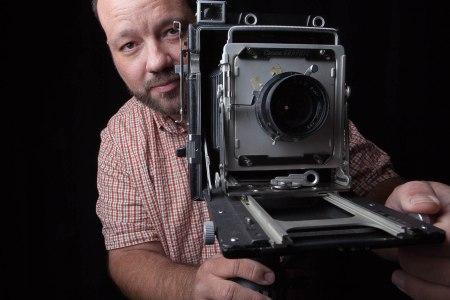 Photographer Lane Simmons at Randy Bacon Studio & Gallery